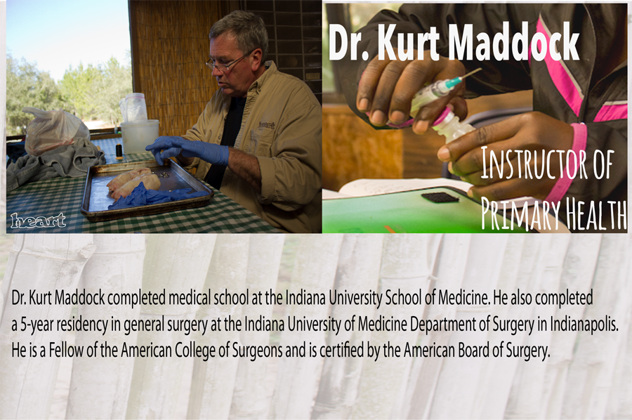 Dr. Kurt Maddock - HEART Institute - Central Florida, Lake Wales, Florida - Sustainability Training - Missionary Training