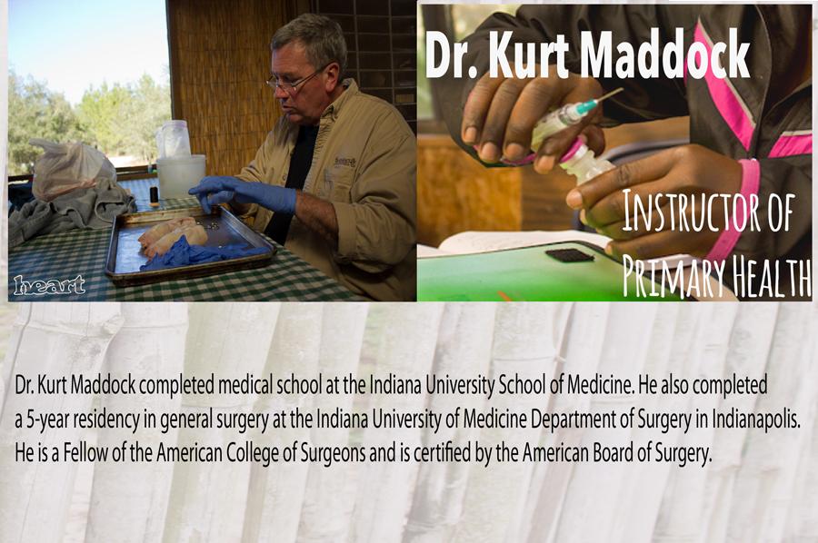 Dr. Kurt Maddock - HEART Institute - Central Florida, Lake Wales, Florida - Sustainability Training - Missionary Training