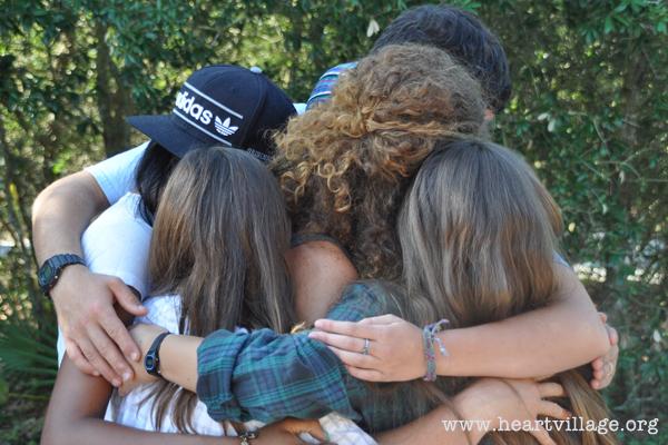 heart-group-hug