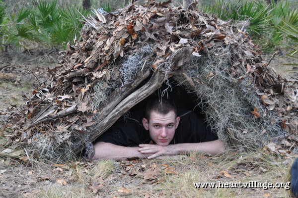 heart-survival-workshop-shelter-built