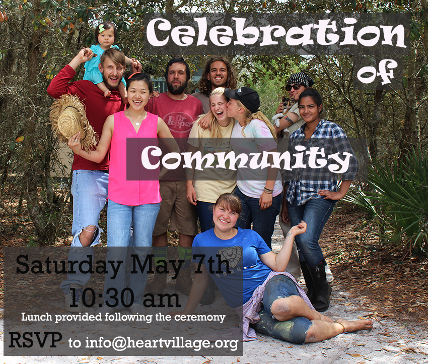You're Invited to Celebration of Community